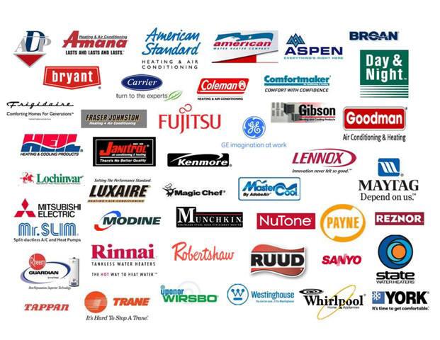 Riverside air conditioning repair heating repair 951 550 for Brands appliances